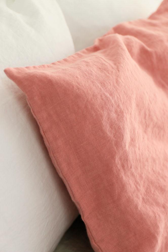 Poszewka na poduszkę róż indyjski