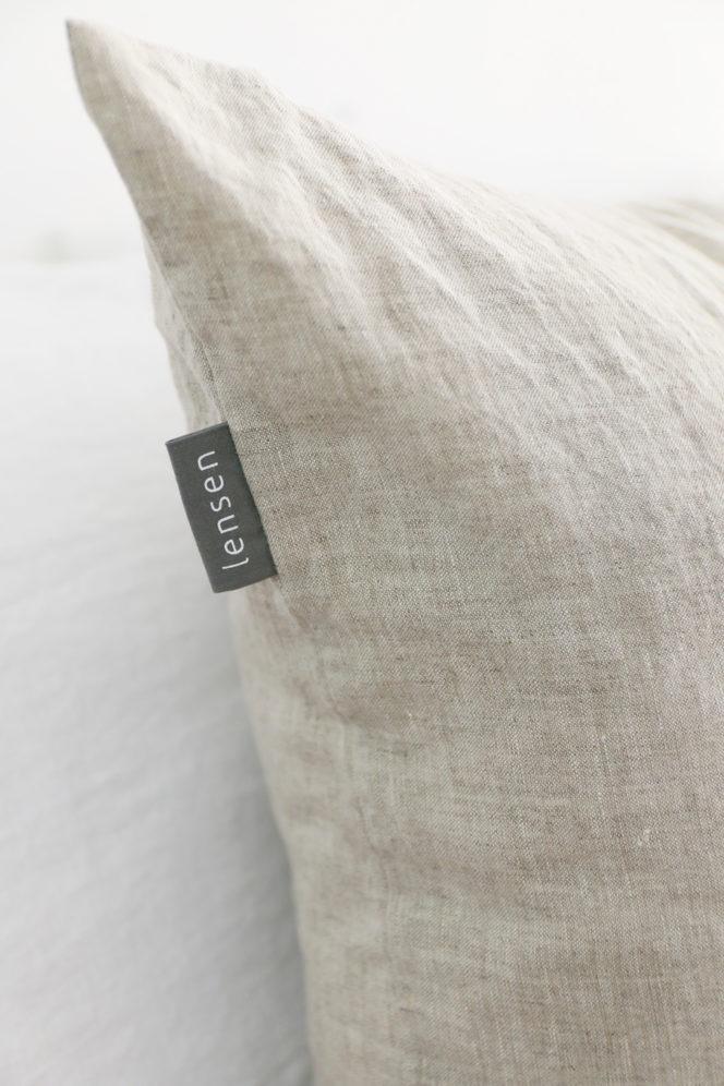 Poszewka na poduszkę naturalny len