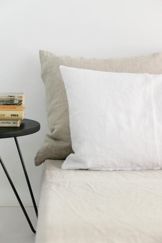 Poszewka na poduszkę śnieżna biel