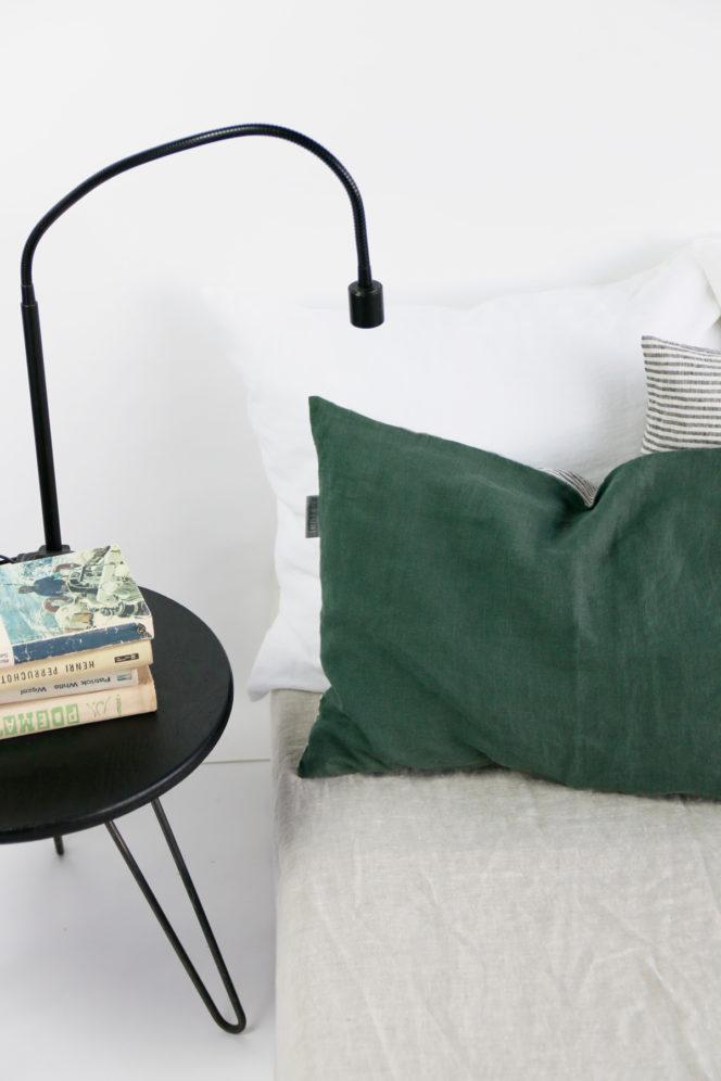 Poszewka na poduszkę dolarowa zieleń w paski