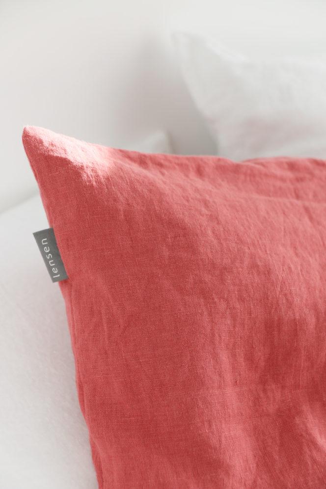 Poszewka na poduszkę dusty rose